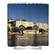 Lake Pichola Shower Curtain