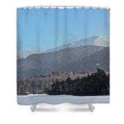 Lake Placid, Mirror Lake Shower Curtain