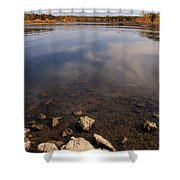 Lake Pomme De Terre In October Shower Curtain