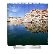 Lake Powell And The Glen Canyon Shower Curtain