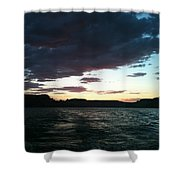 Lake Powell Sunset Shower Curtain