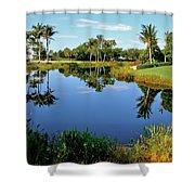 Lake Reflection Shower Curtain