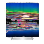 Lake Reflections 3 Shower Curtain