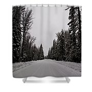Lake Road Shower Curtain
