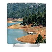Lake Shasta Shower Curtain