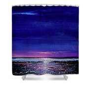 Lake Shimmers Shower Curtain