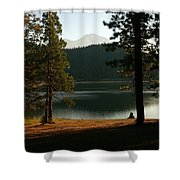 Lake Siskiyou  Shower Curtain