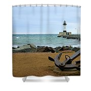 Lake Superior Shower Curtain