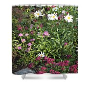 Lake Tahoe Garden Shower Curtain