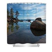 Lake Tahoe Nevada Shower Curtain