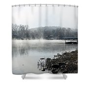 Lake Tanneycomo Shower Curtain