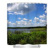 Lake Tarpon Shower Curtain