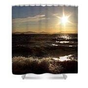 Lake Taupo New Zealand Shower Curtain
