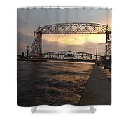 Lake Therapy Shower Curtain