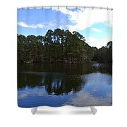 Lake Thomas Hilton Head Shower Curtain