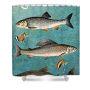 Lake Time-jp2785 Shower Curtain
