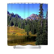 Lake Tipsoo Shower Curtain