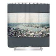 Lake Union Seattle Shower Curtain