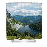 Lake Valhalla Shower Curtain