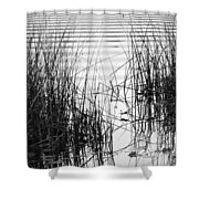 Lake Wake Shower Curtain