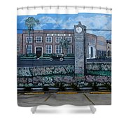 Lake Wales Florida Mural Shower Curtain