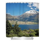Lake Wanaka New Zealand Iv Shower Curtain