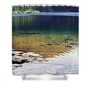 Lake Washington  Shower Curtain