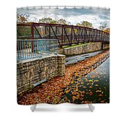 Lake Waterford Fall Waterscape Shower Curtain