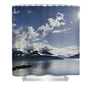 Lake With Islands Shower Curtain