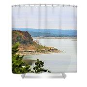 Lake023 Shower Curtain