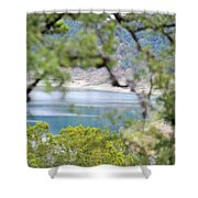 Lake025 Shower Curtain