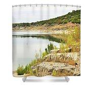 Lake032 Shower Curtain
