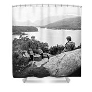 Lakes Of Killarney - Ireland - C 1896 Shower Curtain