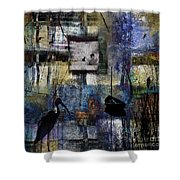 Lakeshore At Dawn Shower Curtain