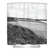 Lakeside Beauty - Bw No. 17 Shower Curtain