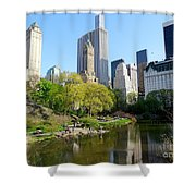 Lakeside Beauty Shower Curtain