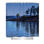 Lakeside-beavers Bend Oklahoma Shower Curtain