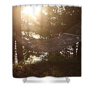 Lakeside Hammock Shower Curtain