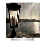 Lakeside Lantern Shower Curtain