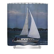 Lakeside Leisure Shower Curtain