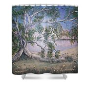 Lakeside Limbs Shower Curtain