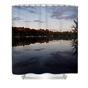 Lakeside Moon Shower Curtain