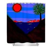 Lakeside  Shower Curtain