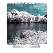 Lakeside4 Shower Curtain