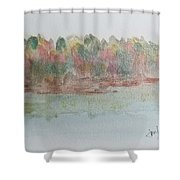 Lakeview Shower Curtain