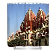 Lakshmi Narayan Mandir Shower Curtain