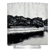 Lal Bagh Lake 4 Shower Curtain