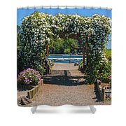 Lale Villarrica, Pucon, Chile Shower Curtain