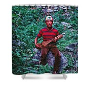 Lama Hotel Shower Curtain