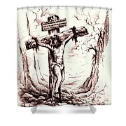 Lamb Of God Shower Curtain
